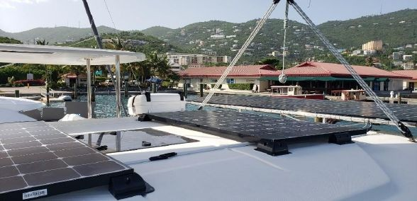 Used Sail Catamaran for Sale 2018 Leopard 40 Deck & Equipment